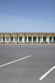 France, Normandy, Deauville, Parking lot - TLF000724
