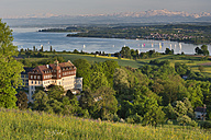 Germany, Baden-Wurttenberg, Lake Constance, Spetzgart Castle and Uberling Lake - SH000868