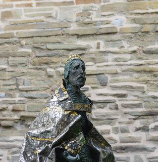 Germany, North Rhine-Westphalia, Aachen, Sculpture Stephan I - HL000254