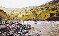 Skoga river and landscape of south Iceland - MBEF000765