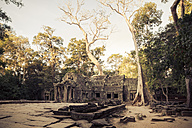 Cambodia, Siem Reap, Angkor, Angkor Wat, view to Ta Prohm temple - MBE000786