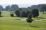 Germany, Bavaria, golf course near by Dorfen - TC003633