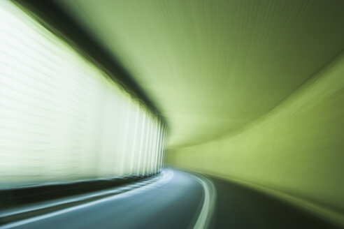 Switzerland, Graubuenden, Galeria am Engadin, road tunnel - TCF003625