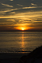 Holland, coast, North See, sunset - MYF000054