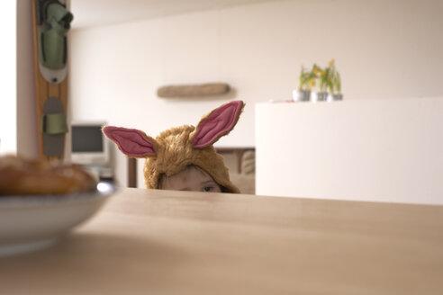 Little boy masquerade as a bunny - FS000329