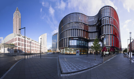 Germany, Hesse, Frankfurt, European Quarter, Skyline Plaza shopping center - AMF001068