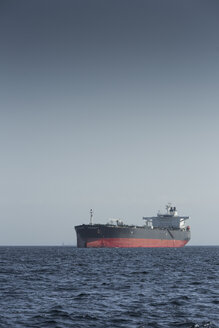 Gibraltar, Oil tanker on the Mediterranean Sea - KB000007