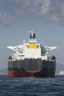 Gibraltar, Oil tanker on the Mediterranean Sea - KB000023