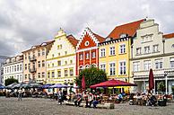 Germany, Mecklenburg-Western Pomerania, Greifswald, market square - BT000054