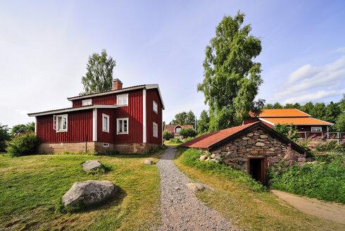 Sweden, Smaland, Gibberyd, Katthult farm, shooting location Astrid Lindgren films Emil of Loenneberga - BT000062