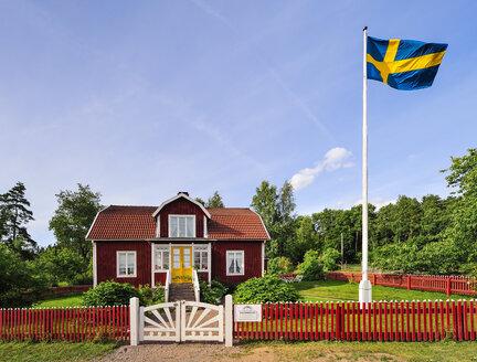Sweden, Smaland, Gibberyd, Katthult farm, shooting location Astrid Lindgren films Emil of Loenneberga - BT000065