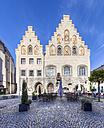 Germany, Bavaria, Wasserburg am Inn, view to city hall - AM001062