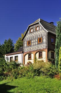 Germany, Saxony, Hinterhermsdorf, Historical Upper Lusatian house - BT000207