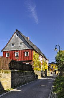 Germany, Saxony, Hinterhermsdorf, Historical Upper Lusatian house - BT000201