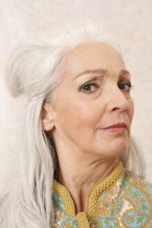 Germany, Dusseldorf, Senior woman , portrait - UKF000254
