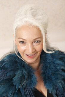 Germany, Dusseldorf, Senior woman , portrait - UKF000256