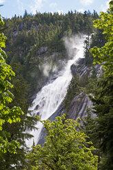 Canada, British Columbia, Squamish, Shannon Falls, Shannon Falls Provincial Park - UMF000658