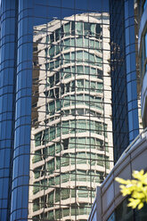 Canada, British Columbia, Vancouver, High-rise building, reflections - UMF000659