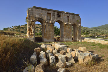 Turkey, Antalya Province, Lycia, antique entrance gate to the archeological site of Patara - ES000713