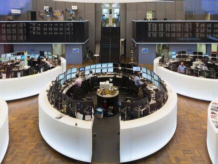 Germany, Hesse, Interior of the Frankfurt Stock Exchange - AM001106