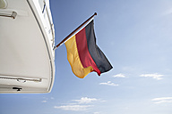 Italy, Sardinia, Germany flag on yacht - PDF000582