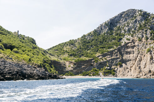 Spain, Majorca, Platja de Coll Baix, bay between Cap de Menorca and Cap de Pinar, - STB000165