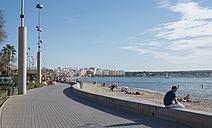 Spain, Balearic Islands, Majorca, Palma, Platja de Palma, promenade - HL000288