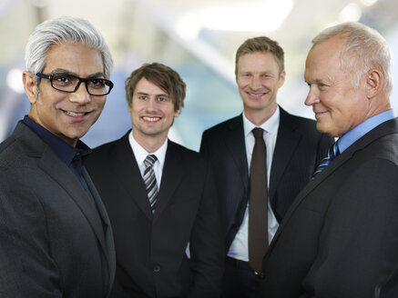 Portrait of four business men - STKF000516