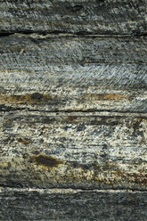 UK, Wales, House wall made of schist - ELF000621