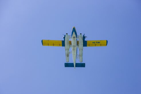 Maldives, Sea plane for the conveyance of tourists in the sky - AM001221