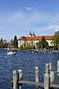 Germany, Bavaria, Upper Bavaria, lake Tegernsee, palace and parish church St. Quirinus, former Tegernsee Abbey - LH000315