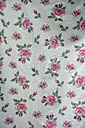 Fabric with pattern of roses - AX000534