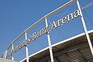 Germany, Baden-Wuerttemberg, Stuttgart, Fan-Center VfB Stuffgart, Mercedes-Benz Arena - WG000089