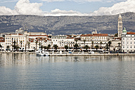 Croatia, Split, View from harbour to old town - MS003052