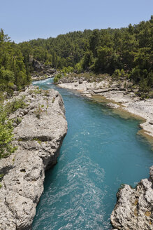 Turkey, Antalya Province, Manavgat, Koepruelue Canyon National Park, Koepruecay river - SIE004679