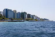 Maldives, Male, harbour port entrance - AMF001264