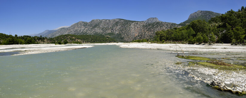 Turkey, Antalya Province, Lycia, View over Esen Cay river, Taurus Mountains - ES000774