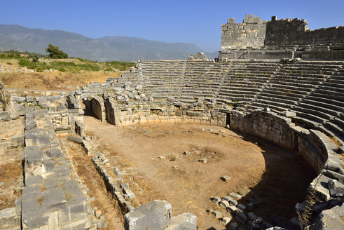 Turkey, Antalya Province, antique theater, archaeological site of Xanthos - ES000781