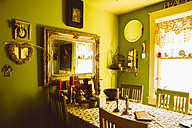 USA, Washington D.C, Interior of a French style dining room - MBE000868