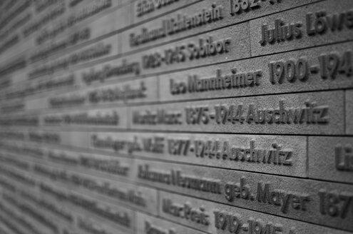 Germany, Wiesbaden, Memorial old synagoge Michelsberg - MH000235