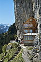 Switzerland, Canton Appenzell Innerrhoden, Ebenalp, mountain inn Aescher - EL000642