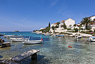 Croatia, Dalmatia, Rogoznica, Bay and harbour - AM001283