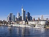 Germany, Hesse, Skyline of Frankfurt with River Main - AM001372