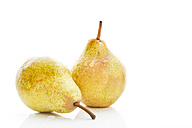 Williams pears, white background - MAEF007427