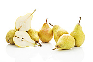 Williams pears, white background - MAEF007410