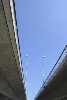 Germany, Baden-Wuerttemberg, Konstanz, view of Schaenzle bridge from below - AX000565