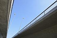 Germany, Baden-Wuerttemberg, Konstanz, view of Schaenzle bridge from below - AX000564