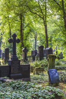 Germany, Saxony-Anhalt, Halle, Cemetery Stadtgottesacker - WD002019