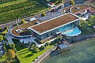 Germany, Baden-Wurttemberg, Meersburg, Thermal spa, aerial view - SH001078