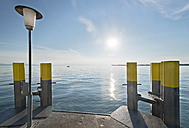 Germany, Bavaria, Nonnenhorn, View of shipping pier - SH001076